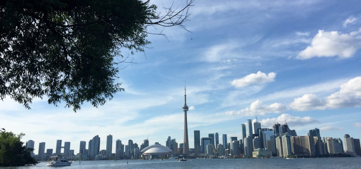 Toronto Skyline from the Island | Events Are Cool