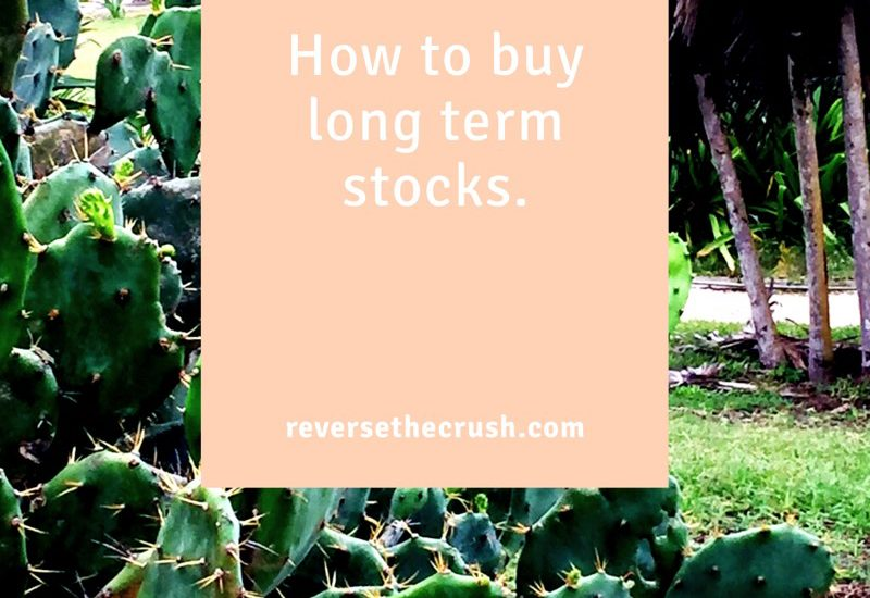 how to buy long term stocks