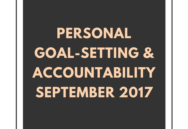 personal goal-setting