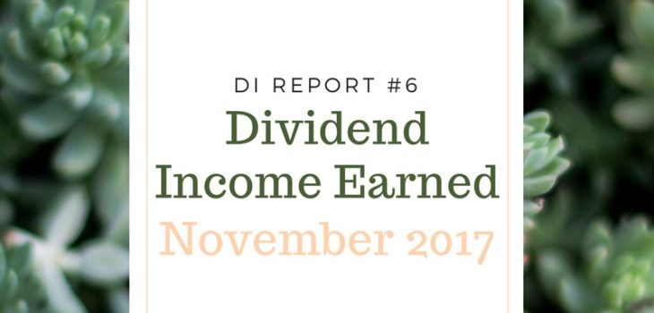 dividend income earned